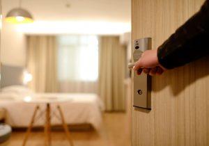 интериорна врата на спалня