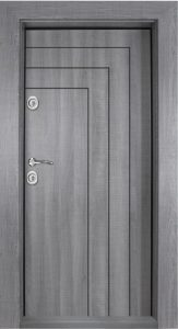 Блиндирана врата 1002 Сив Дъб