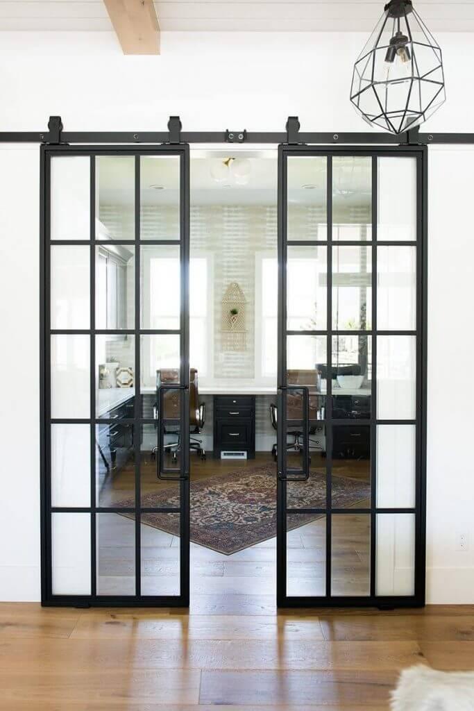 Двойно стъклени Интериорни врати