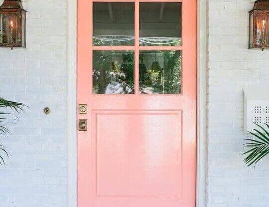 Входна врата за външни условия